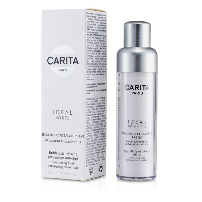 Carita Ideal White Crystalline Emulsion SPF 30 50ml Womens Skin Care