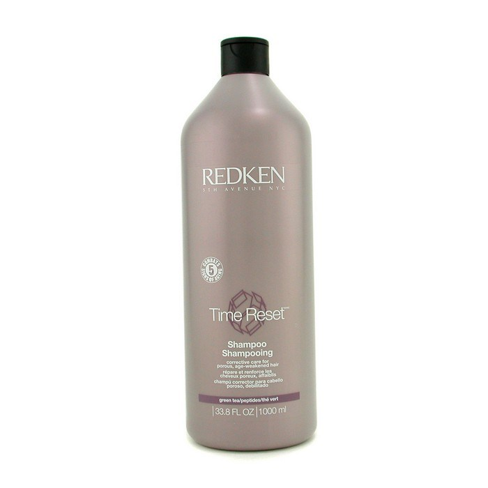 Redken-Time-Reset-Conditioner-Revitalisant-Corrective-Care-For-1000ml-33-8oz
