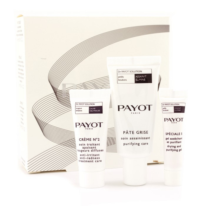 dr payot set pate grise 15ml creme no 2 10ml special 5 5ml payot f c co usa