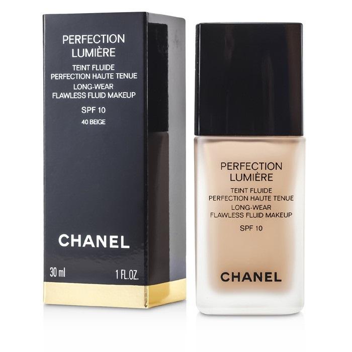 Chanel Perfection Lumiere Long Wear Flawless Fluid Makeup SPF 10 - # 40 30ml