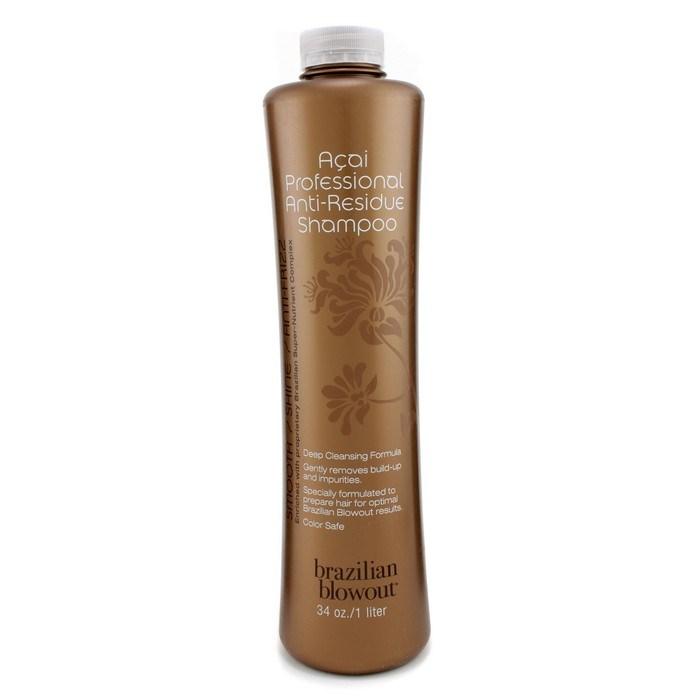 brazilian blowout acai professional antiresidue shampoo