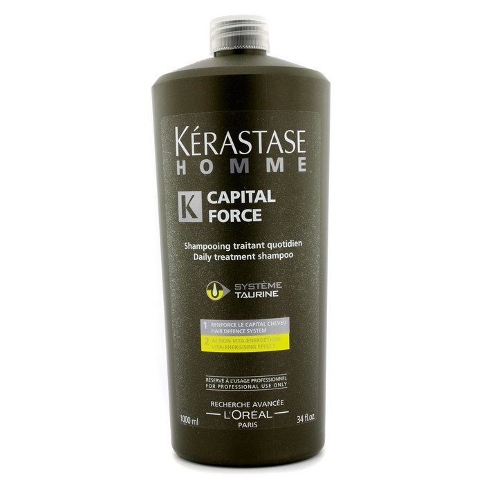 kerastase homme capital force daily treatment shampoo vita. Black Bedroom Furniture Sets. Home Design Ideas