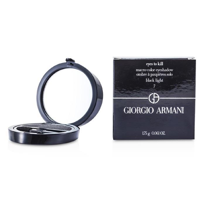 Giorgio Armani Eyes to Kill Solo Eyeshadow - # 07 Black Light 1.75g Womens Make