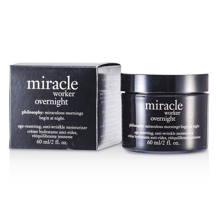 Philosophy Miracle Worker Overnight Moisturizer 60ml Womens Skin Care