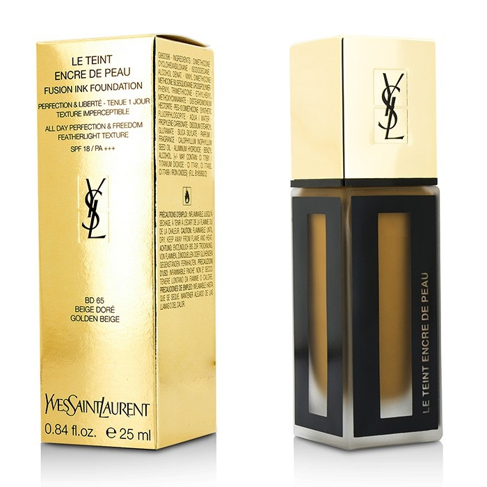 Yves Saint Laurent Le Teint Encre De Peau Fusion Ink Foundation SPF18 - # 25ml