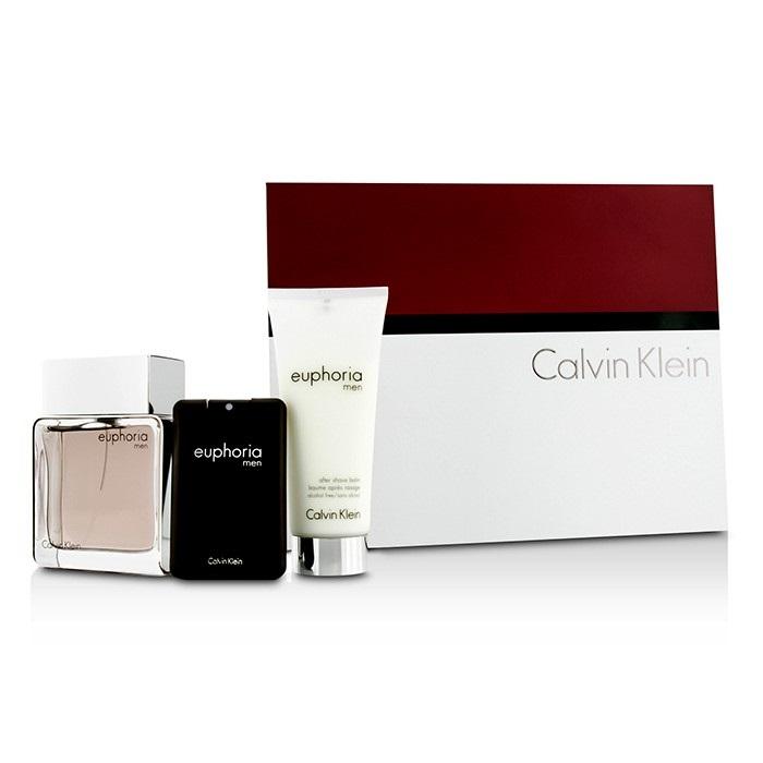 Calvin Klein Euphoria Intense Coffret: EDT Spray 100ml/3.4oz + After Shave Balm