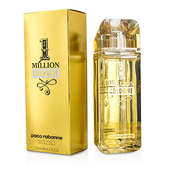 new paco rabanne one million cologne edt spray 125ml men s. Black Bedroom Furniture Sets. Home Design Ideas