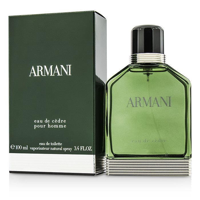 Giorgio Armani Armani Eau De Cedre EDT Spray 100ml Men's Perfume