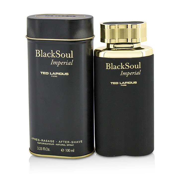 Ted Lapidus Black Soul Imperial After Shave Spray 100ml Men's Perfume