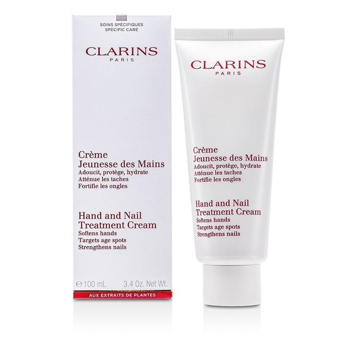 clarins paris hand and nail treatment cream