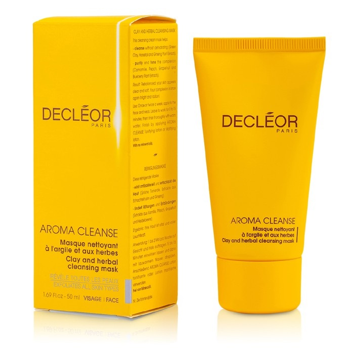decleor new zealand aroma cleanser clay and herbal mask by decleor fresh. Black Bedroom Furniture Sets. Home Design Ideas