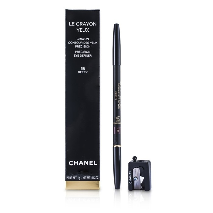 chanel new zealand le crayon yeux no 58 berry by. Black Bedroom Furniture Sets. Home Design Ideas