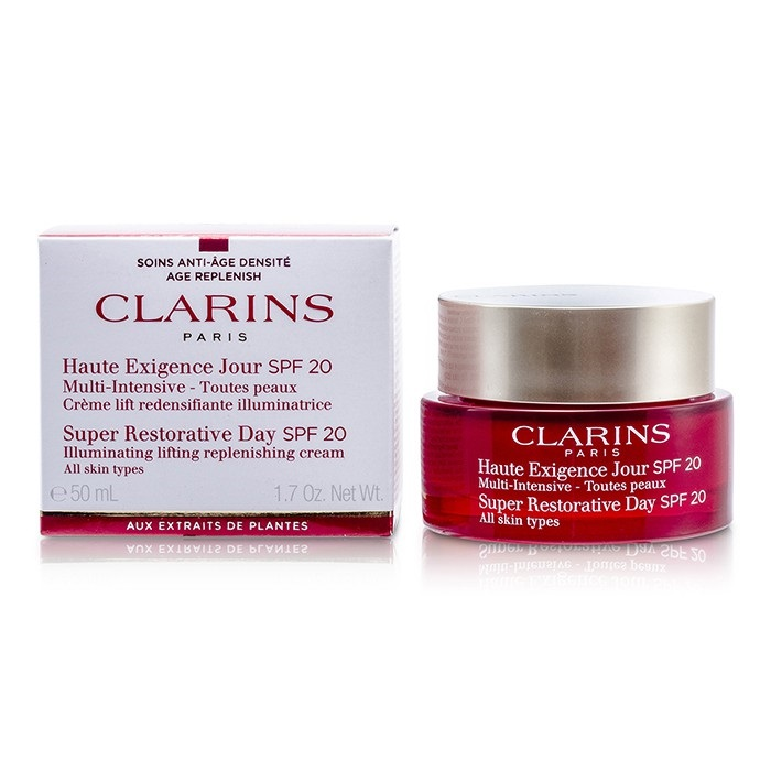 clarins restorative day cream