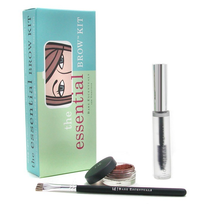 Bare Escentuals Id Essential Brow Kit Auburn Brow Color Brow