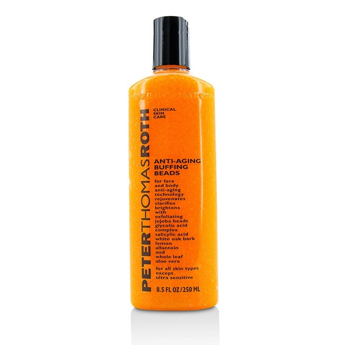 Peter Thomas Roth Anti-Aging Buffing Beads - 8.5 Fl Oz Purity Cellular Ultimate Blemish Reducing Cream 1.7oz