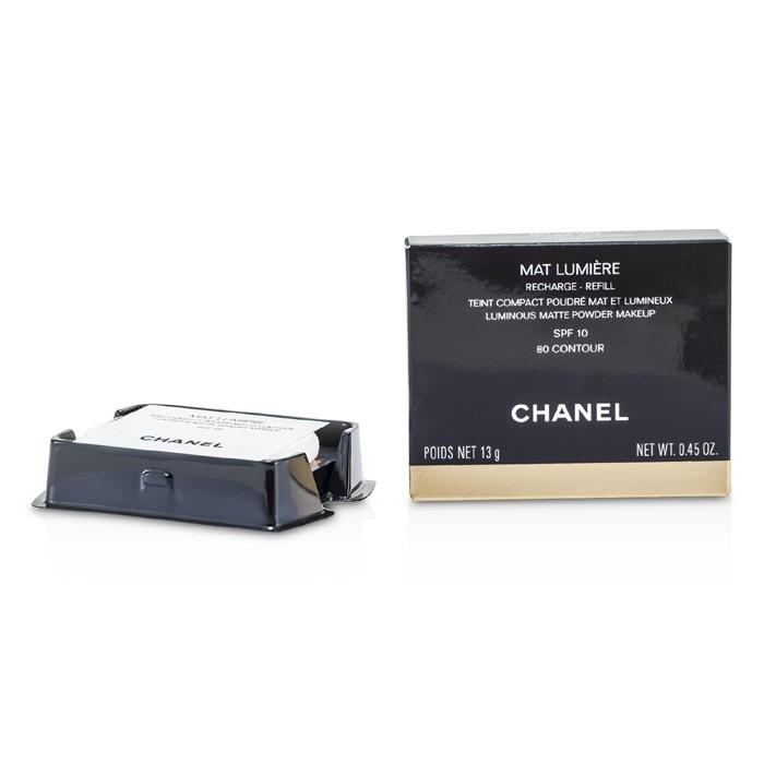 Chanel Mat Lumiere Luminous Matte Powder Makeup Refill
