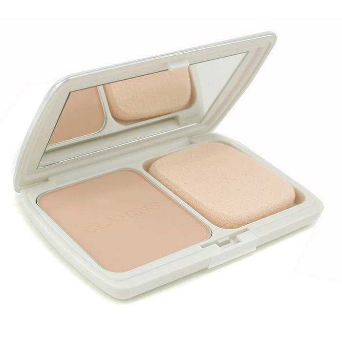 Clarins Perfume Refill: Clarins UV Plus Total Fit Powder Foundation SPF30 (Case + Refill) - # 02 Porcelain Beige