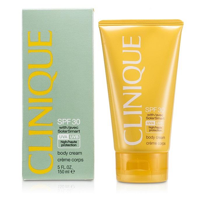 clinique spf 30 body cream