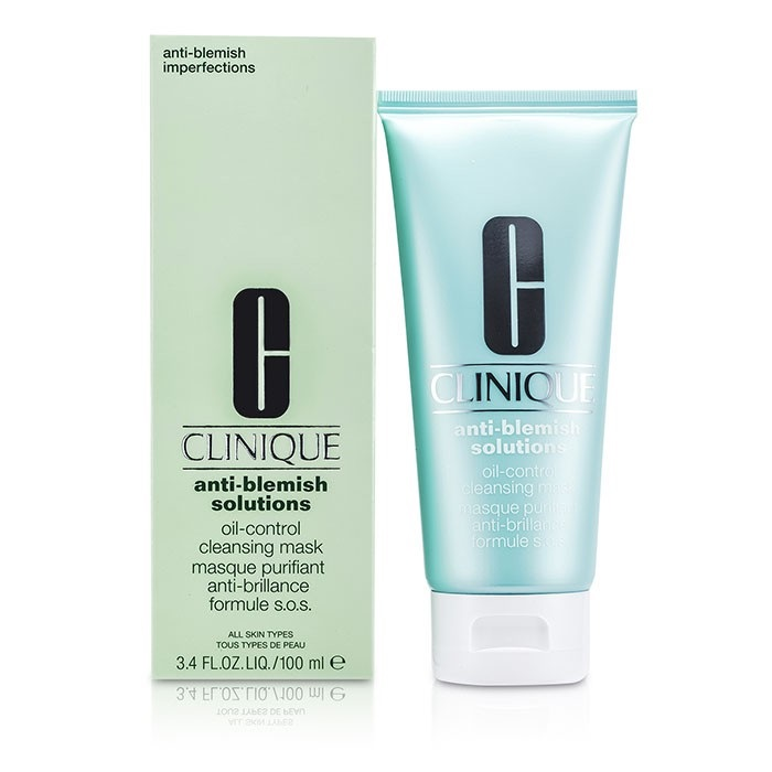 clinique anti blemish solutions oil control cleansing mask. Black Bedroom Furniture Sets. Home Design Ideas