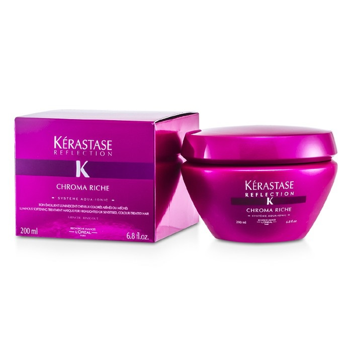 Kerastase Kerastase Reflection Chroma Riche Luminous Softening Treatment  Masque (For Highlighted or Sensitised, Color-Treated Hair) Hair Care