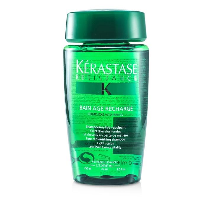Kerastase kerastase resistance bain age recharge shampoo for Kerastase bain miroir shine