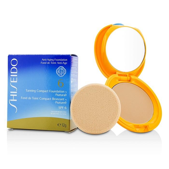 Natural Spf6 N ShiseidoF Tanning CoUsa amp;c Foundation Compact EDWHYI29