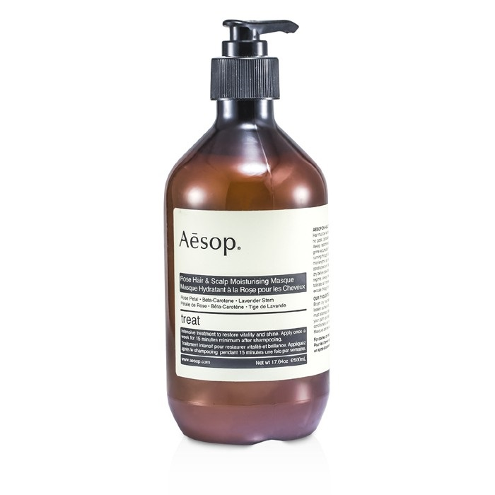 Aesop Rose Hair Amp Scalp Moisturising Masque For All Hair