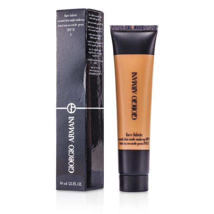 Giorgio Armani Face Fabric Second Skin Nude Makeup Spf 12 -8658