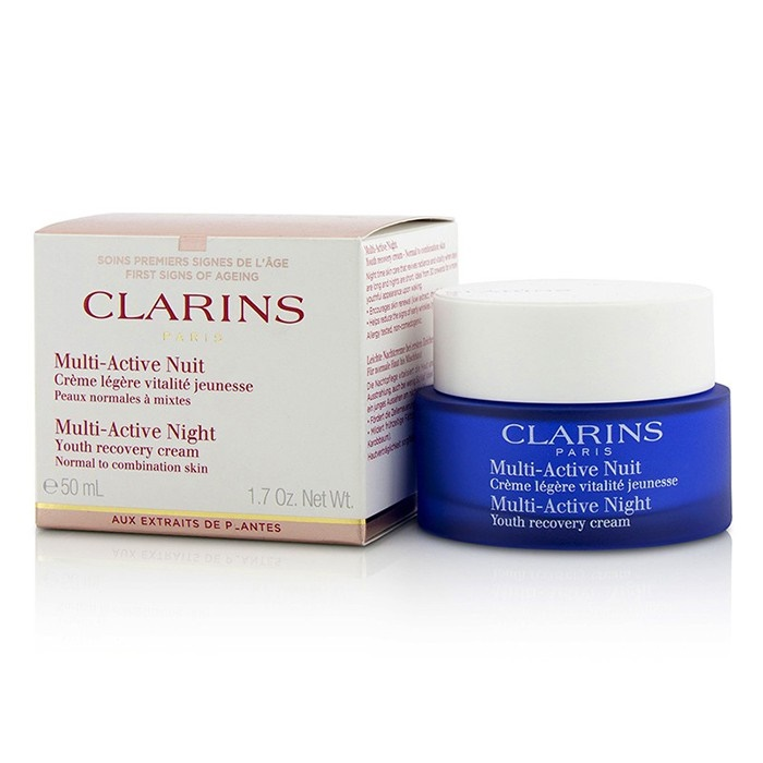 Clarins New Zealand - Multi-Active Night Youth Recovery Cream (Normal to Combination Skin) by ...