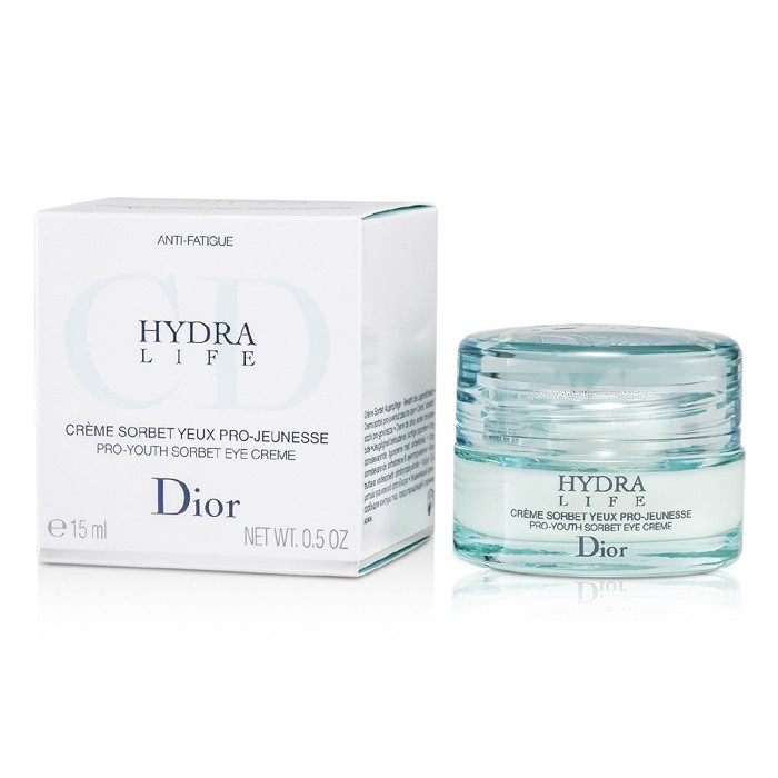 christian dior hydra life pro youth sorbet eye creme fresh. Black Bedroom Furniture Sets. Home Design Ideas