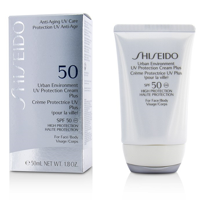 Shiseido Urban Environment UV Protection Cream Plus SPF 50 ...