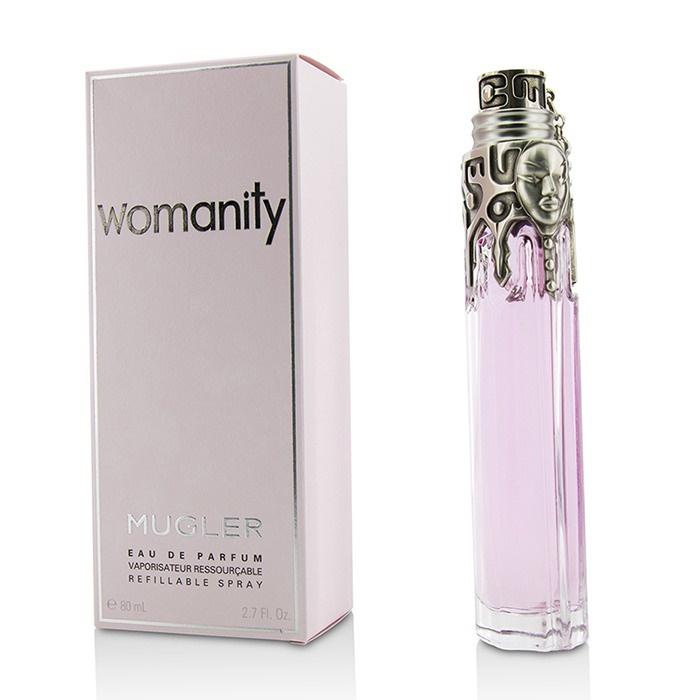 Womanity Perfume Refill: Thierry Mugler (Mugler) Womanity EDP Refillable Spray 80ml Women's Perfume 3439601000411