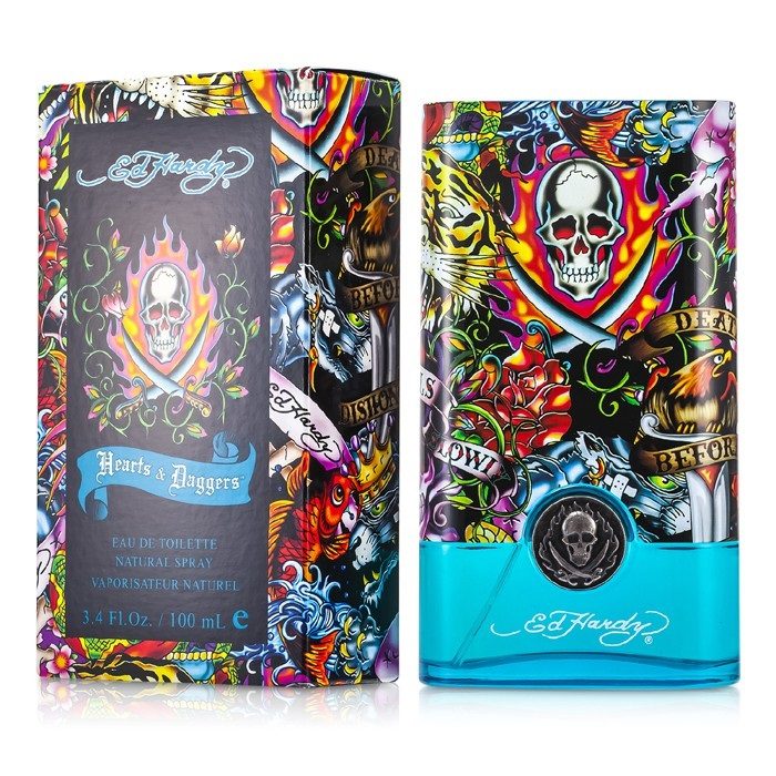 Ed Hardy Hearts And Daggers Woman Eau De Perfume Spray 100ml: Ed Hardy Hearts & Daggers EDT Spray By Christian Audigier