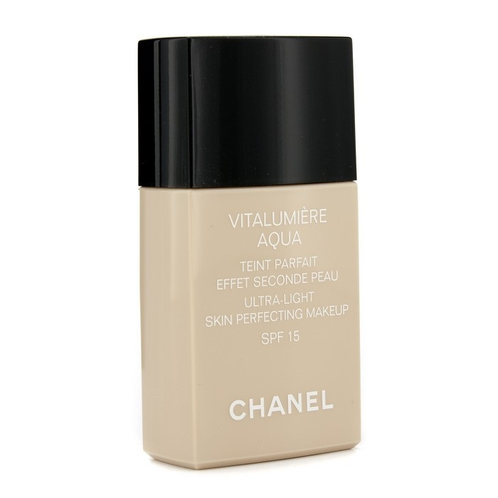 chanel vitalumiere aqua ultra light skin perfecting makeup sfp 15 40 beige fresh. Black Bedroom Furniture Sets. Home Design Ideas