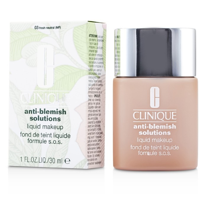 clinique anti blemish solutions liquid makeup 03 fresh. Black Bedroom Furniture Sets. Home Design Ideas