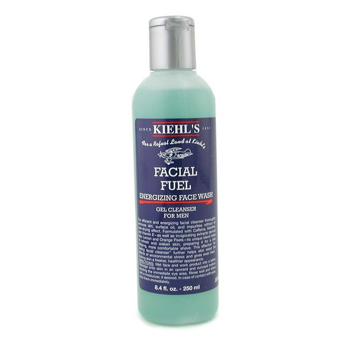Kiehl S New Zealand Facial Fuel Energizing Face Wash Gel
