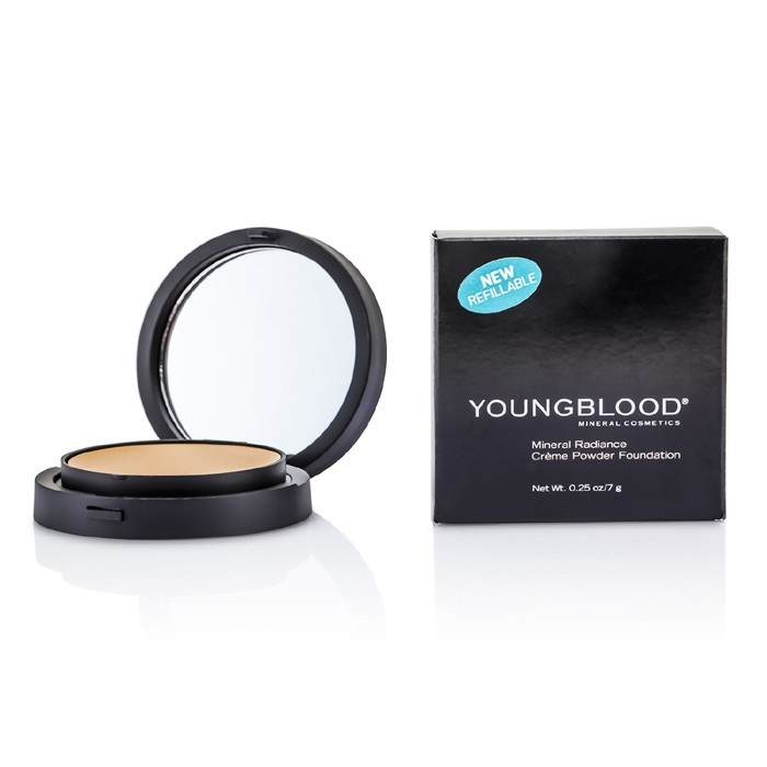 Youngblood New Zealand - Mineral Radiance Creme Powder Foundation - # Honey by Youngblood | Fresh™