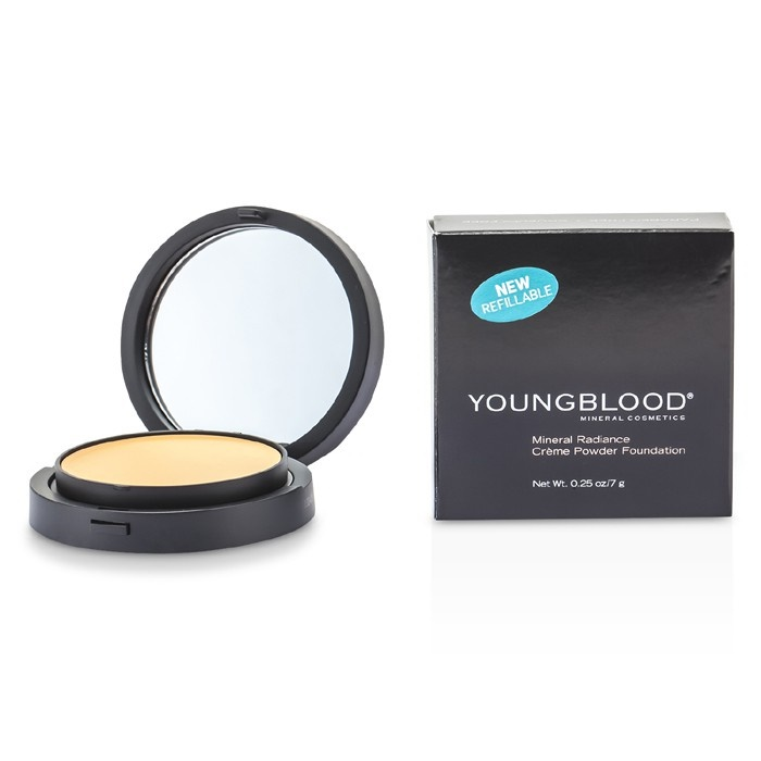 Youngblood New Zealand - Mineral Radiance Creme Powder Foundation - # Warm Beige by Youngblood ...