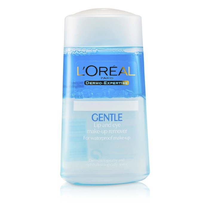 L'Oreal Dermo-Expertise Gentle Lip And Eye Make-Up Remover. Loading zoom