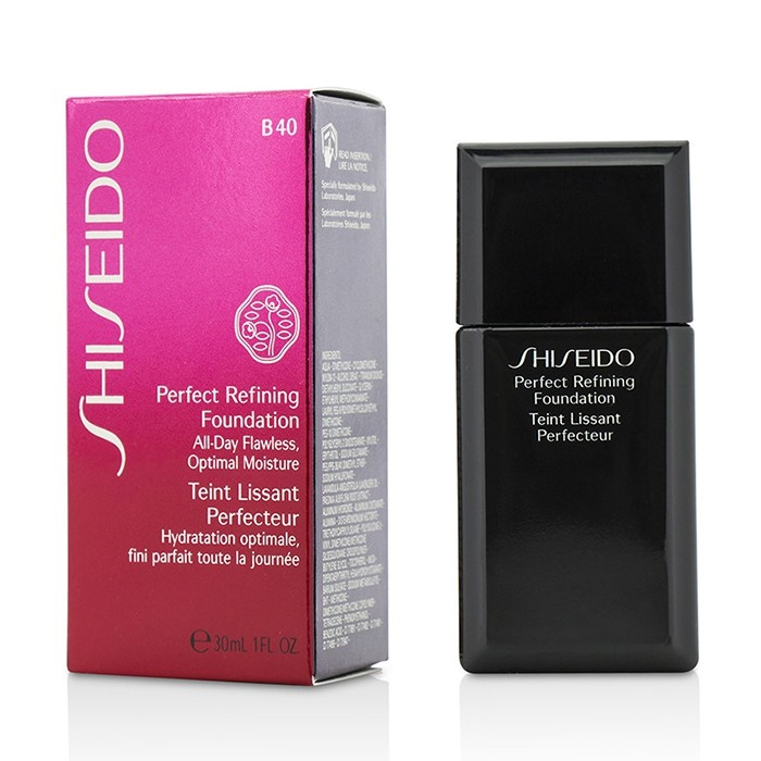 shiseido new zealand perfect refining foundation spf16. Black Bedroom Furniture Sets. Home Design Ideas