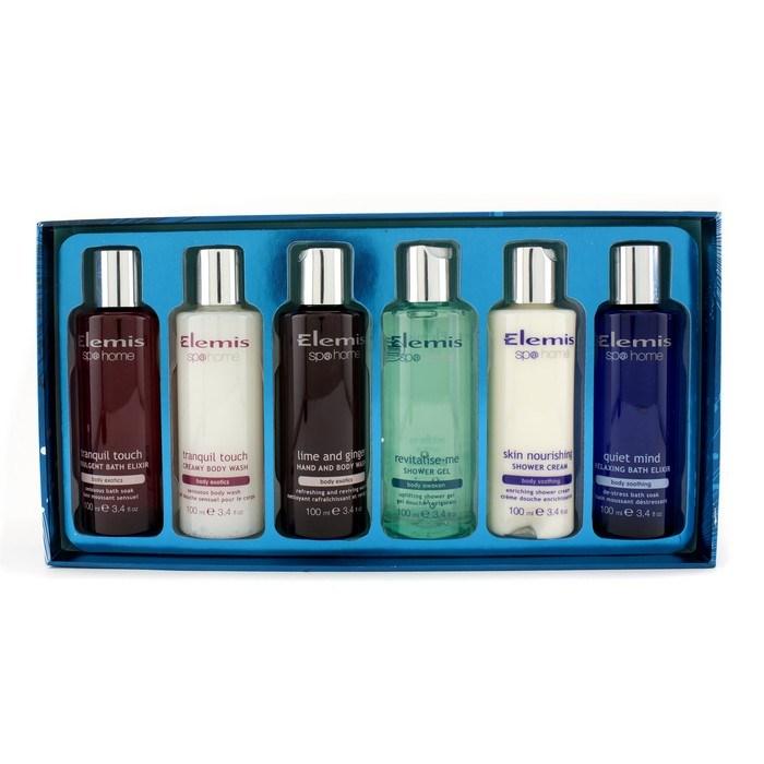 Elemis bathing treasures kit hand body wash body wash indulgent bath elixir shower gel - Elemis shower gel ...