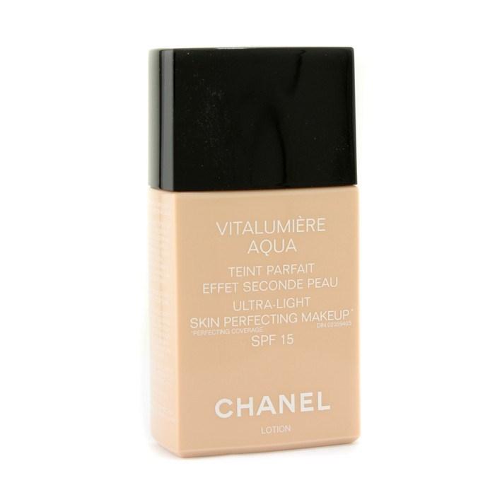 chanel vitalumiere aqua ultra light skin perfecting makeup sfp 15 br10 beige rose fresh. Black Bedroom Furniture Sets. Home Design Ideas