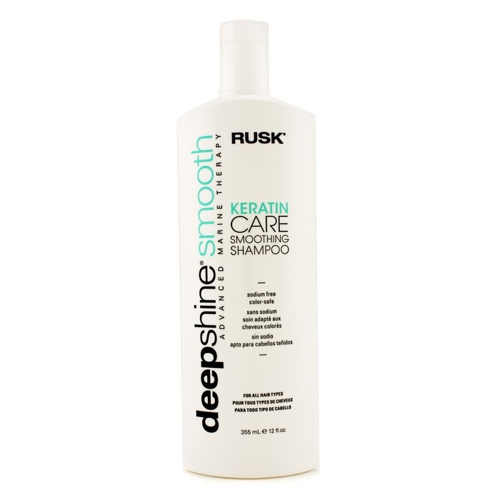 Deepshine Smooth Keratin Care Smoothing Shampoo Rusk Fc Co Usa
