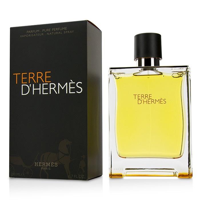 hermes terre d 39 hermes pure parfum spray fresh. Black Bedroom Furniture Sets. Home Design Ideas