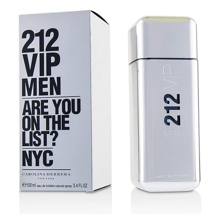 Carolina Herrera 212 VIP EDT Spray 100ml Men s Perfume 8411061723760 ... bdfb49c9d9b6