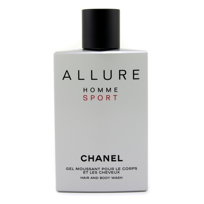 chanel allure homme sport hair body wash made in usa. Black Bedroom Furniture Sets. Home Design Ideas