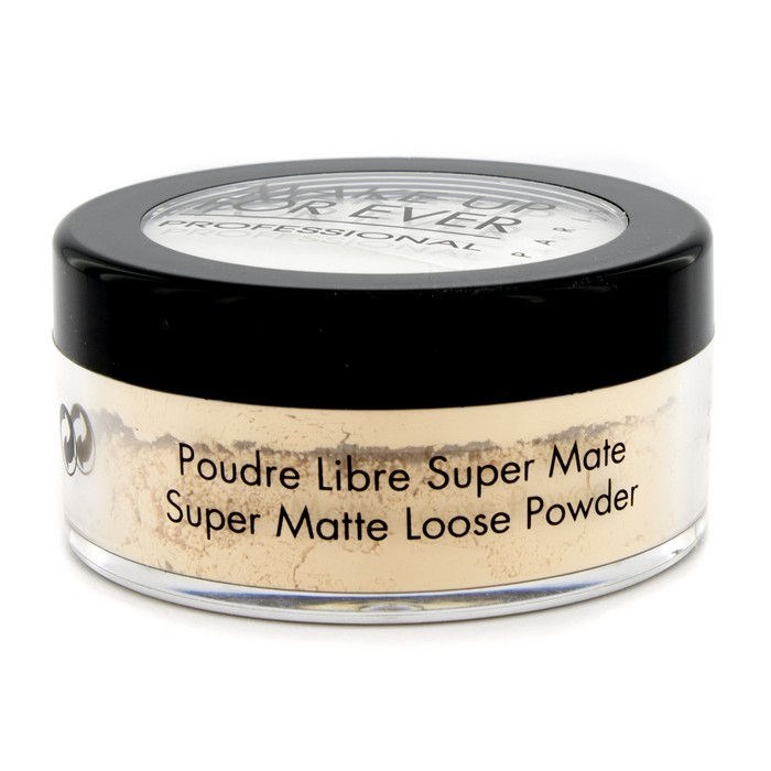 Make Up For Ever Super Matte Loose Powder - #18 (Banana). Loading zoom