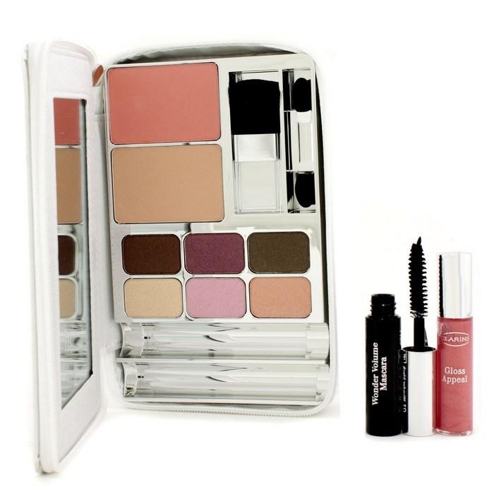 Clarins Bright White Palette 1x Mini Mascara 1x Mini