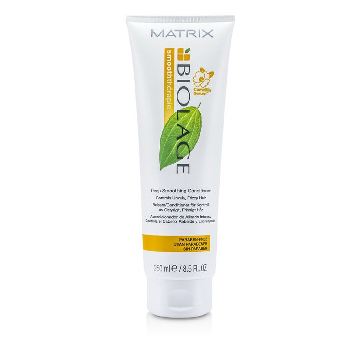 Matrix Biolage Smooththerapie Deep Smoothing Conditioner (For Unruly,  Frizzy Hair) Hair Care