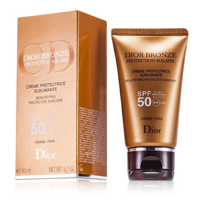37c614e9 Christian Dior Dior Bronze Beautifying Protective Suncare SPF 50 For Face  Skincare